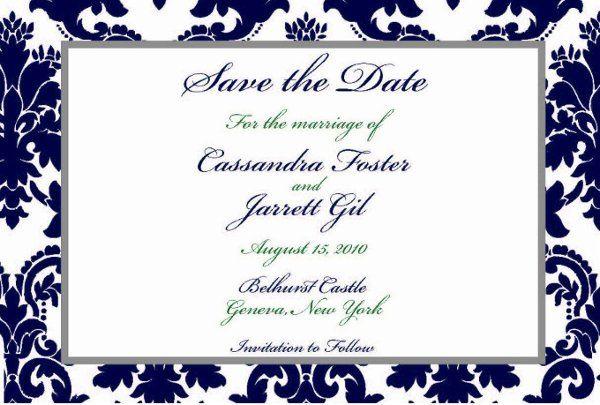 Tmx 1317950287989 SavetheDate12new Fuquay Varina wedding invitation