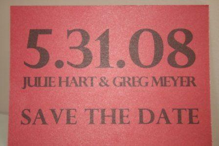 Tmx 1317950316848 SavetheDate6 Fuquay Varina wedding invitation