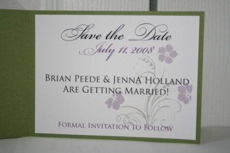 Tmx 1317950321786 SavetheDate8 Fuquay Varina wedding invitation