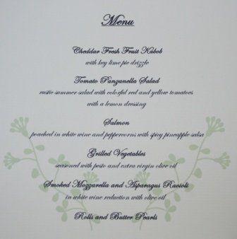 Tmx 1317950660848 Menu1 Fuquay Varina wedding invitation