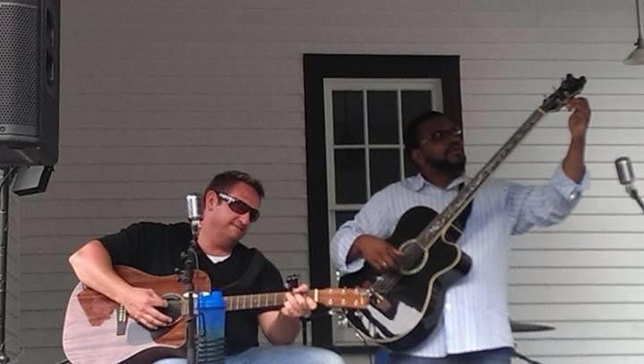 Jason and Dan's Wedding  Columbus Botanical Gardens  Live entertainment by Smith & Lewis and Sound...
