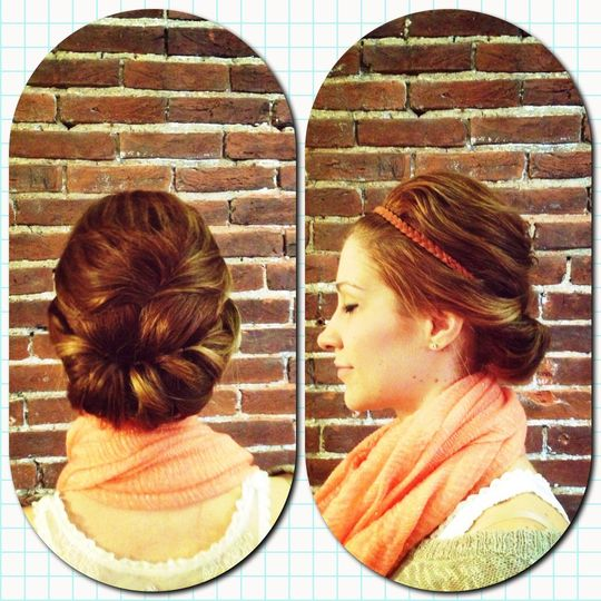 Updo by Melissa Morales