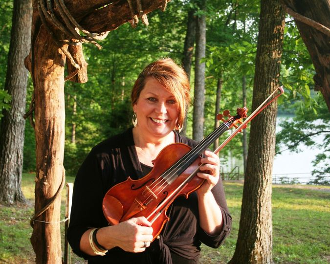 Maureen Riley our violinist for the Harpeth Trio.