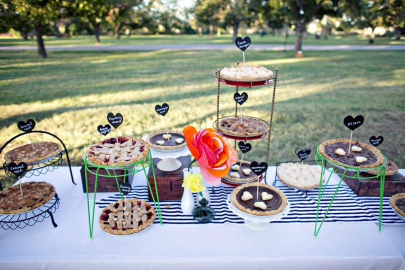 I love to put together creative things like this for my brides. These were a hit!