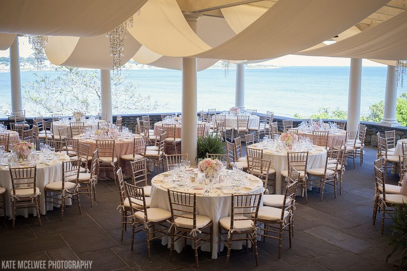 wedding at the chanler in newport r