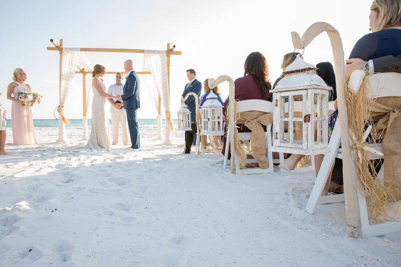 Ceremony at Henderson Beach