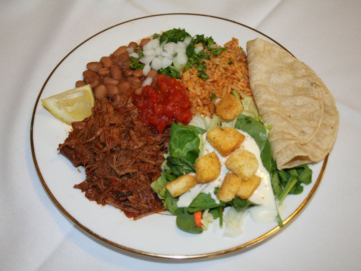 Tmx 1417634059352 Barbacoa Plate Los Angeles, CA wedding catering