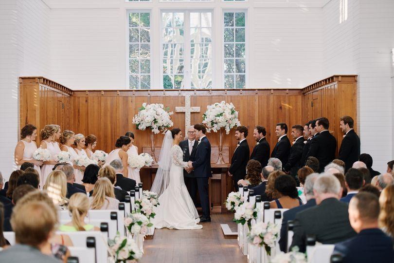 Chapel Interior Wedding
