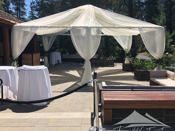Tmx 20x20 Chiffon Canopy 51 473858 162095912281690 Bend, OR wedding rental