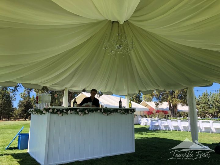 Tmx 20x20 With Full Chiffon Draping Liner 51 473858 162095912176185 Bend, OR wedding rental