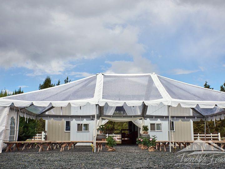 Tmx 30x40 Clear Canopy 51 473858 162095912157980 Bend, OR wedding rental
