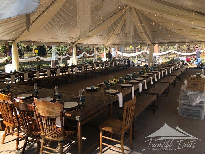 Tmx 30x45 Canopy With Lighting Decor 51 473858 162095917389450 Bend, OR wedding rental