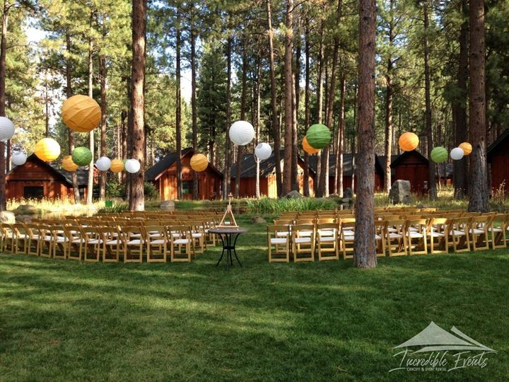 Tmx 5pines Natural Wood Chairs Paper Lanterns 51 473858 162095912390220 Bend, OR wedding rental