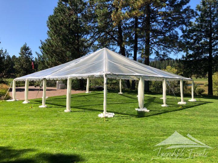 Tmx Hom 40x40 Clear Canopy 1 51 473858 162095987130216 Bend, OR wedding rental