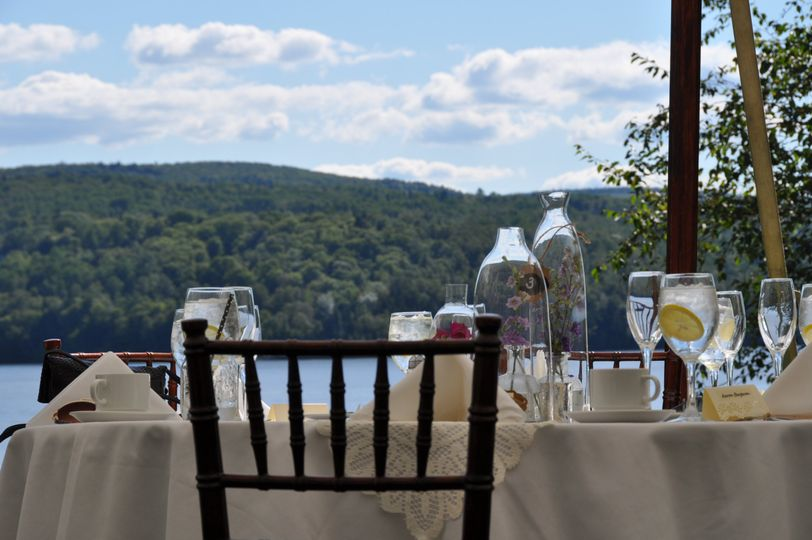 Rangeley Lake from your table