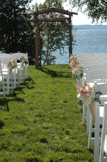 Ceremony at Water's Edge