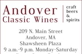 Andover Classic Wines Beverage Catering