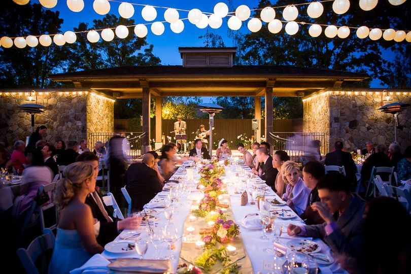 Napa Candlelit Reception