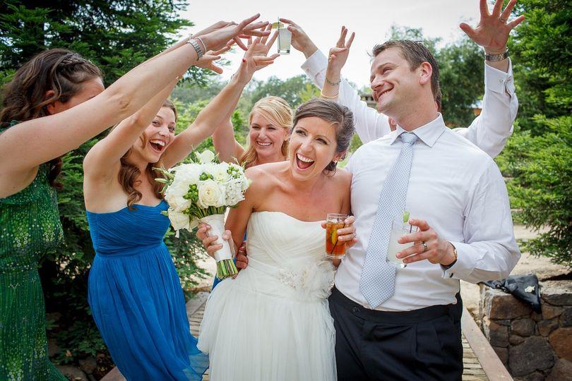 Napa Wedding Party