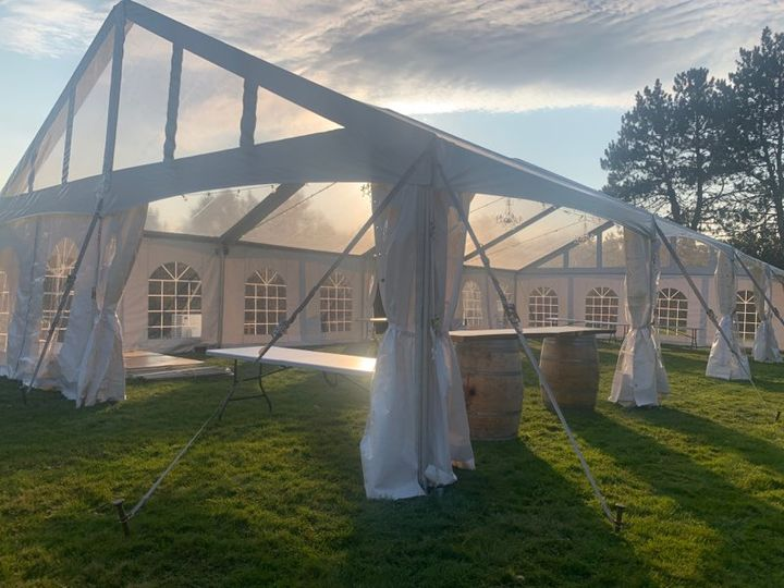 H2K Clear Top Frame Tent