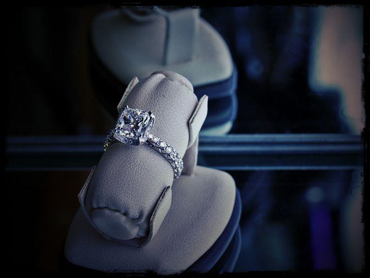 Tmx 1457044415088 Cushion Halo 2 Oak Lawn wedding jewelry