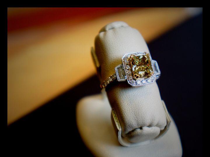 Tmx 1457044439311 Fancy Yellow Cocktail Ring Oak Lawn wedding jewelry