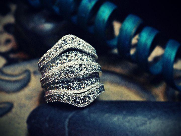 Tmx 1457045500473 Wide 4 Row Ring Oak Lawn wedding jewelry