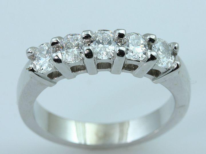 Tmx 1457046202398 Mm Cushion Wring Oak Lawn wedding jewelry