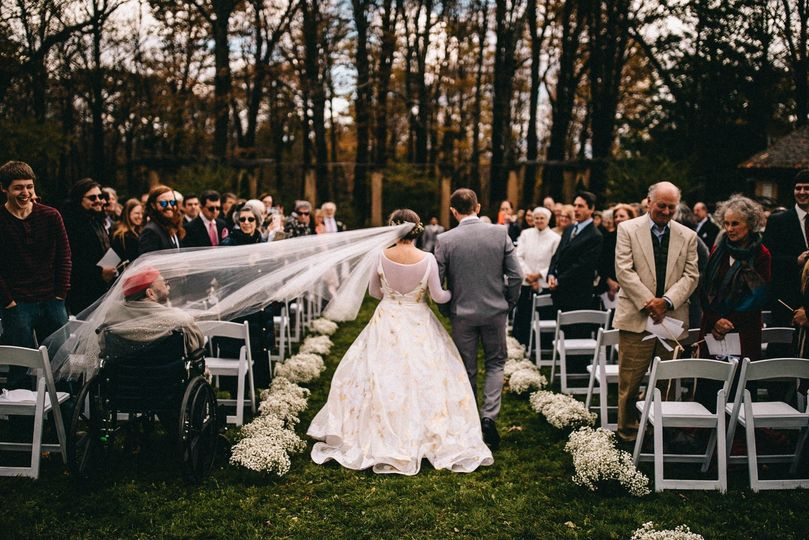Walking down the aisle - The Spragues
