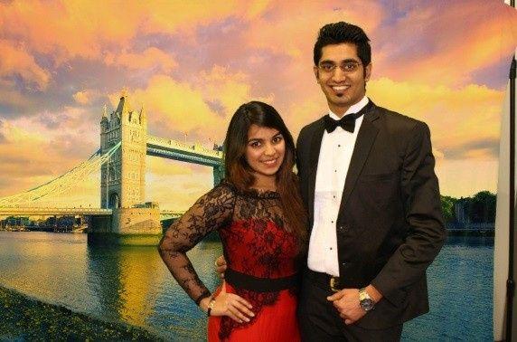 London bridge backdrop