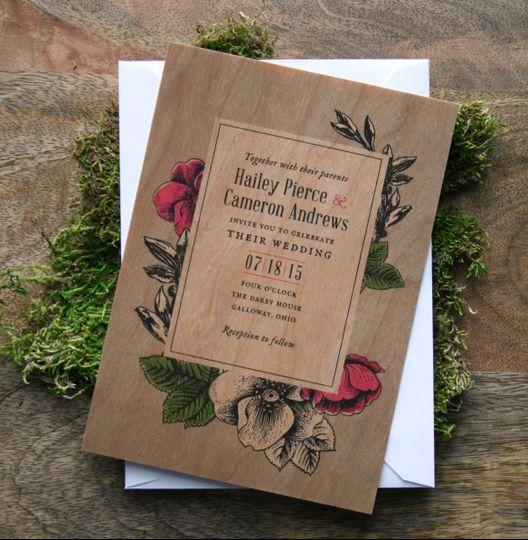 cheer up press wedding invitations ohio columbus zanesville and