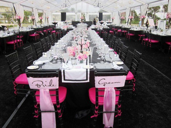 Black and pink theme