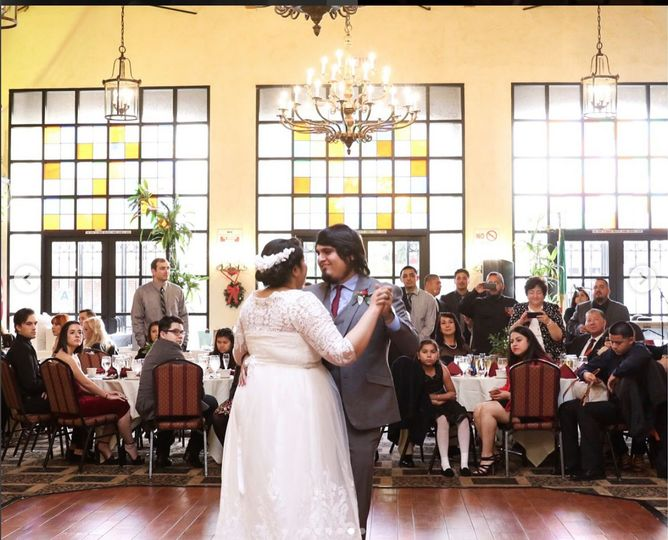Jaclyn & David Castillo Saavedra First Dance in San Pedro, CA