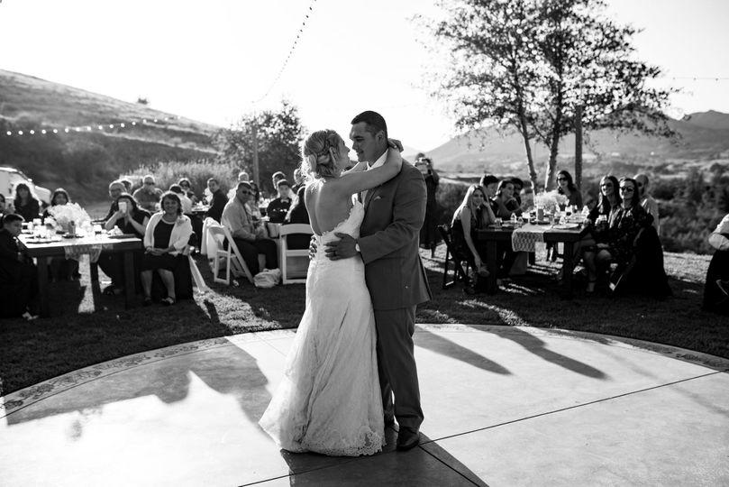 Nicole & Sam Roberto First Dance Temecula, CA