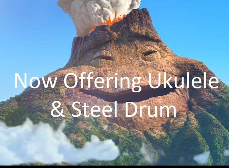LIVE Ukulele & Steel Drume