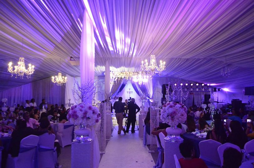 A's creation events decor
