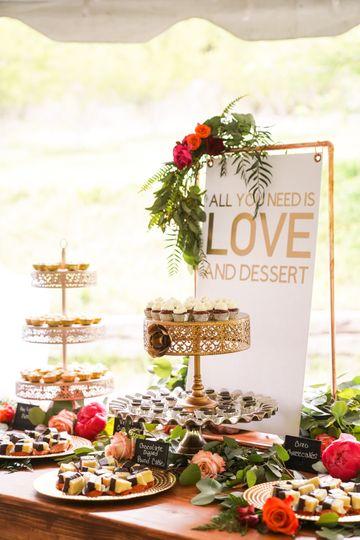 Dessert table rental