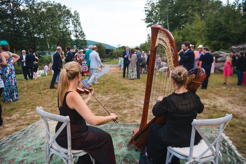 Playing to the guests