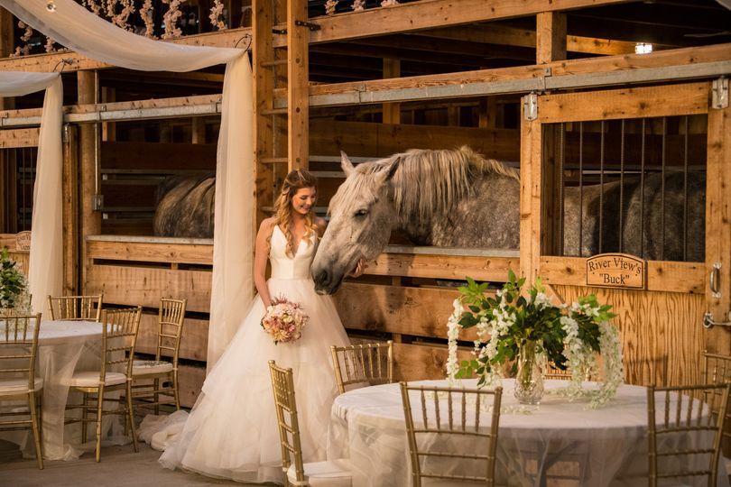 Luxury, rustic barn wedding
