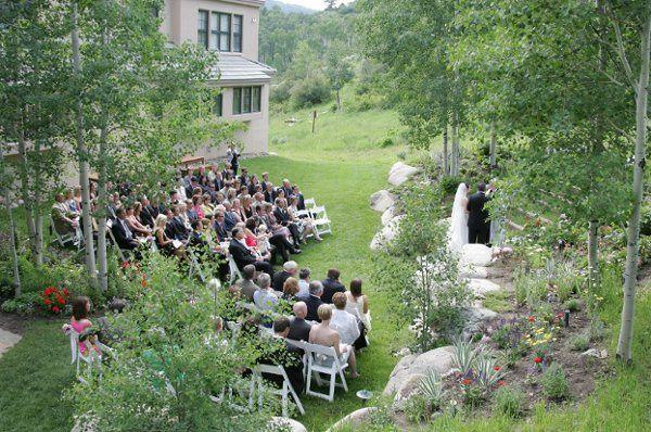 SaddleRidge - Outside Ceremony