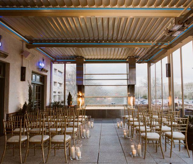 Ceremony on Ibiza Patio