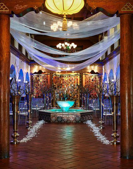 grand lobby ceremony
