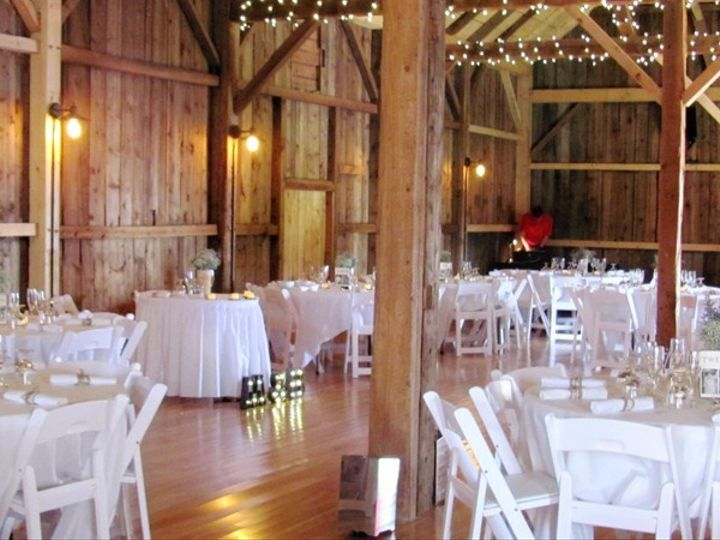 Tmx 1484581679692 Manfield Barn Inside Pic Jericho, Vermont wedding venue