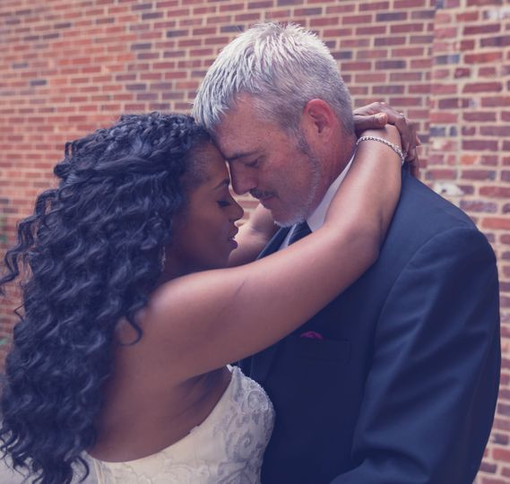 Love was definitely in the air. Intimate photos are always special to catch.