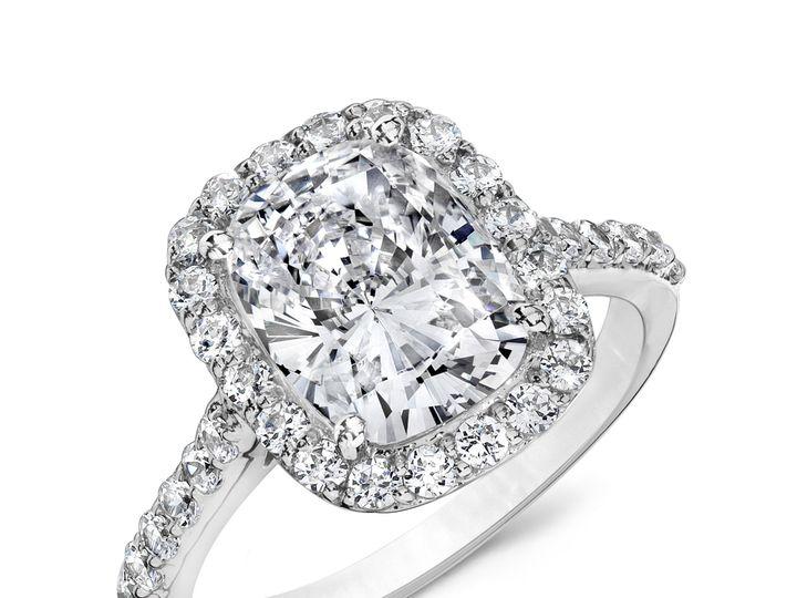 Tmx 1466783719287 Cushion Halo Ring Sarasota wedding jewelry