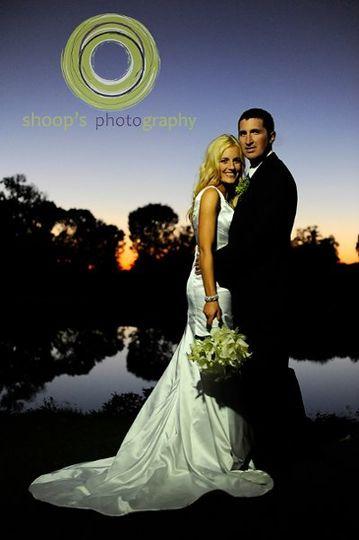 Whitney Oaks Sunset Wedding
