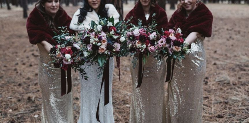 Boho Chic Bouquets
