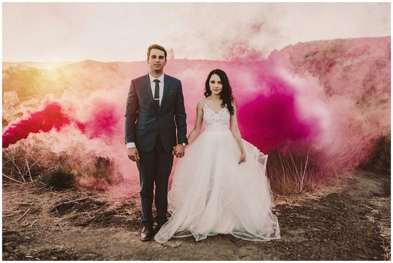 See canyon wedding