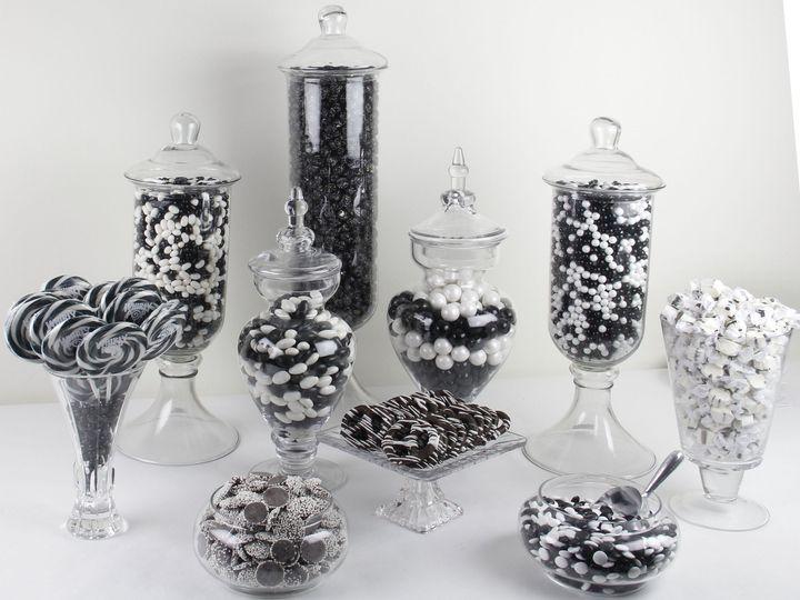 Tmx 1367357488421 Black  White Candy Buffet Jamaica wedding favor