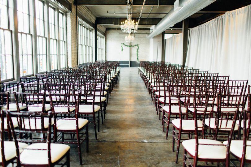 Indoor ceremony site